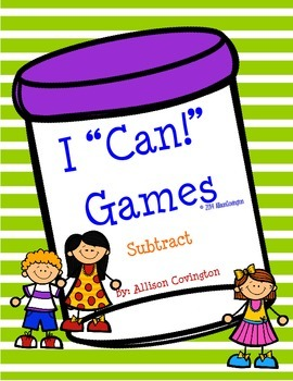 """I """"Can!"""" Subtract"""