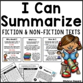Distance Learning I Can Summarize Fiction and Non-Fiction Texts Using S.W.B.S.T