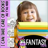 I Can Take Care of Books--Fantasy theme