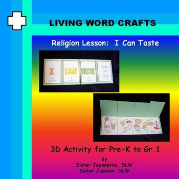 I Can Taste for Pre-K – K to Gr.1