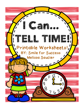 I Can... Tell Time!