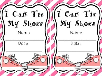 """I Can Tie My Shoes"" Certificates {Freebie}"