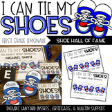 I Can Tie My Shoes! Shoe Hall of Fame Bulletin Board EDITABLE