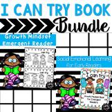 I Can Try Bundle:  Growth Mindset Emergent Reader