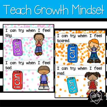 I Can Try:  Growth Mindset Emergent Reader