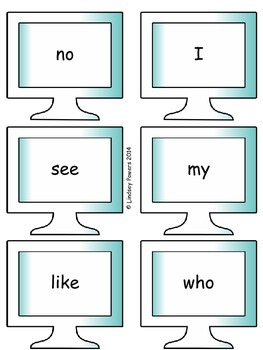 I Can Type Words - Sight Word Fun for Kindergarten