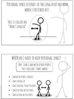 I Can Use Personal Space!  Social Story