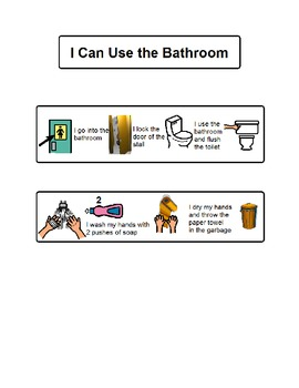 I Can Use the Bathroom visual