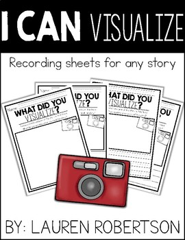 I Can Visualize- Recording Sheets