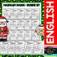 I Can - Vocabulary Building - December Set