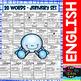 I Can - Vocabulary Building - January Set