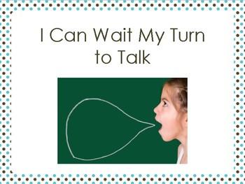 I Can Wait My Turn to Talk - An Interrupting Social Script