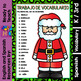 I Can - Word Work in Spanish - December Set