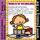 I Can - Word Work in Spanish - June Set