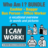 I Can Work: Who Am I?: Bundle of All 4 Occupations