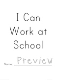 I Can Work at School (booklet)