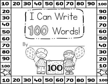 I Can Write 100 Words Book