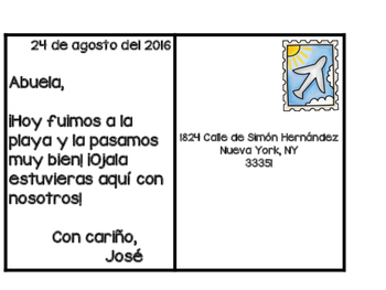I Can Write About Posters in Spanish