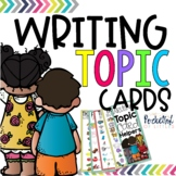 I Can Write About {Writing Topic Cards}