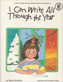 I Can Write All Through the Year-Kathy Dunlavy