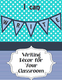 """I Can Write"" Bulletin Board Decor"