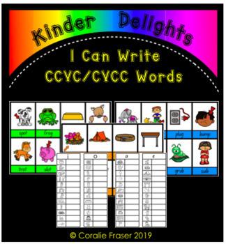 I Can Write CCVC/CVCC Words