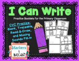 I Can Write: CVC Words