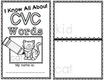 I Can Write: CVC Words
