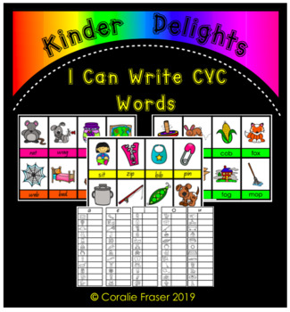 I Can Write CVC Words
