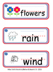 I Can Write Collection #8- Spring Time  (Picture Word Cards)