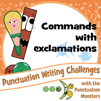 I Can Write Command Sentences with Exclamation Marks