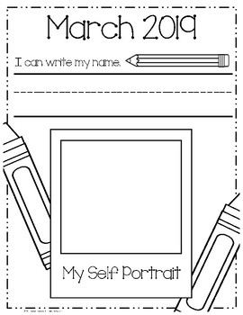 *Updated for 2017* I Can Write & Draw!