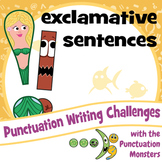 Punctuation Writing Challenges: Exclamative Sentences & Exclamation Marks
