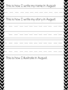 I Can Write In Kindergarten