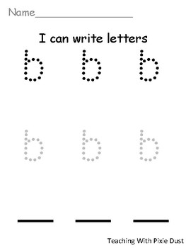 I Can Write Letters