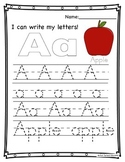 I Can Write My ABC's