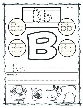 I Can Write My Letters Correctly! ~ Kindergarten RF.K.1d~ABC Writing Activities