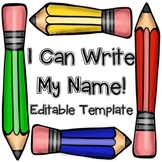 I Can Write My Name 4 Ways!