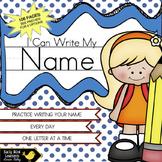 Name Writing Practice for Preschool and Kindergarten