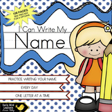 Name Writing Practice for Preschool and Kindergarten