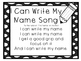 I Can Write My Name Song