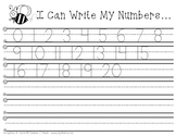 I Can Write My Numbers