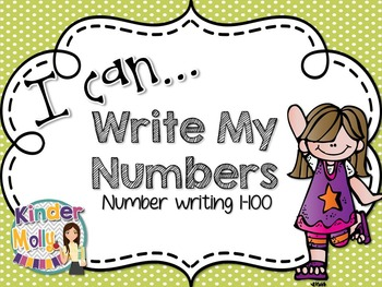 I Can Write My Numbers - Number Writing to One Hundred!