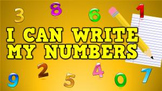 I Can Write My Numbers! (video)