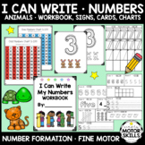 I Can Write - Numbers Workbook, Signs, Cards, Charts - Han