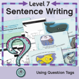 Punctuation Writing Challenges: Sentences with a Subject-V
