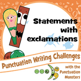 Punctuation Writing Challenges: Statements with Exclamation Marks