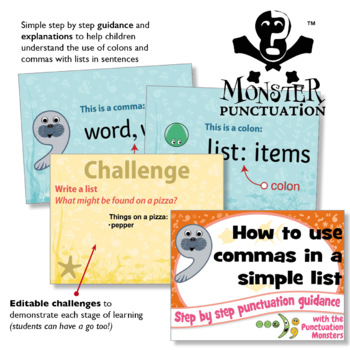 Punctuation Writing Challenges: Using Commas in a List
