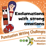 Punctuation Writing Challenges: Strong Emotions with Exclamations