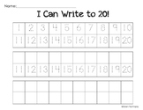 I Can Write To 20